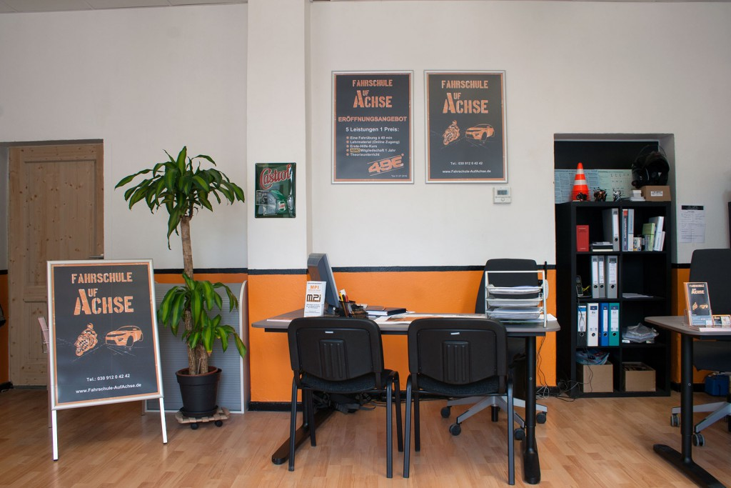 Foto - Frontblick Büro